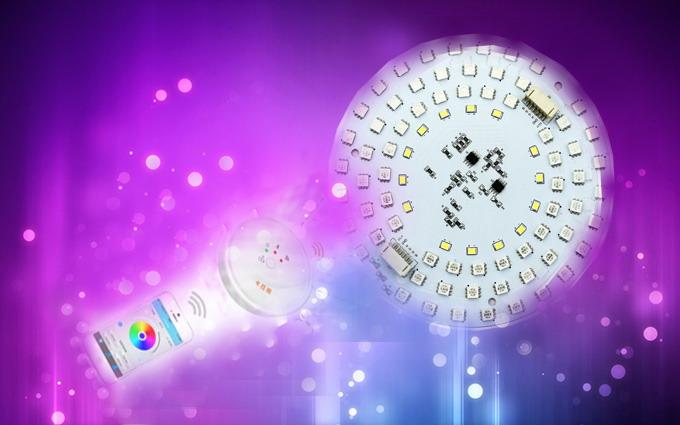 什么是智能照明led灯板