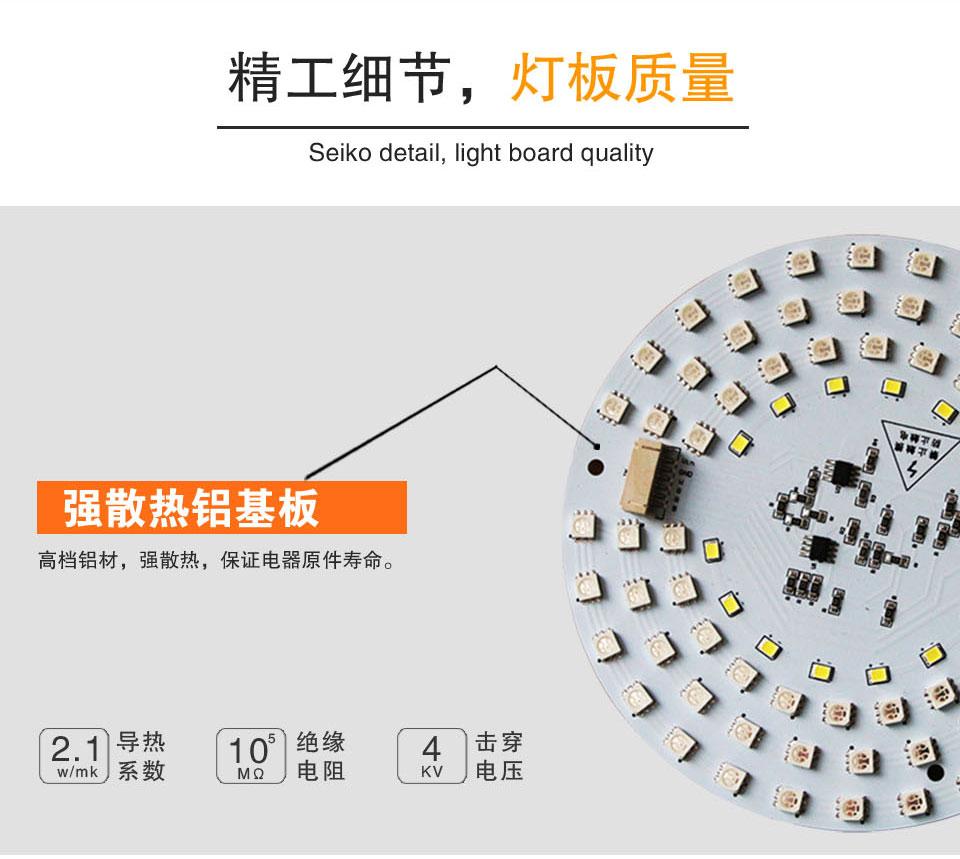卡丘熊双色led智能灯板微智能版套件参数