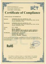卡丘熊LED球泡ROSH认证证书